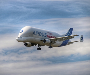 Airbus, plane, and aircraft image