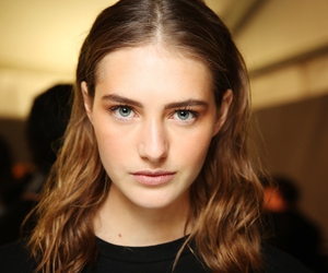 backstage, beauty, and Dsquared2 image