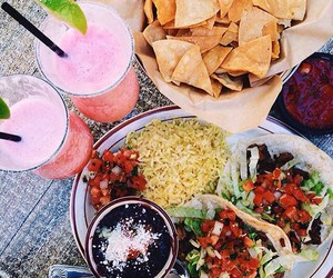 food, healthy, and tacos image
