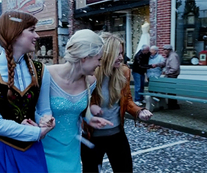 once upon a time, georgina haig, and elizabeth lail image