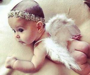 baby, angel, and sweet image