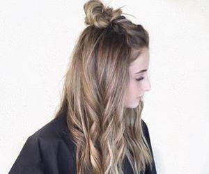 girl, hair, and highlights image
