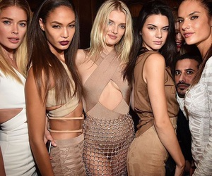 Balmain, models, and fashion image