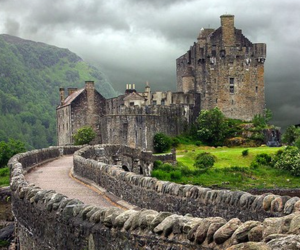 castle and scotland image