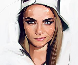 art and cara delevingne image