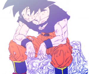 anime and goku image