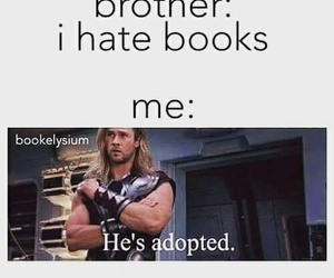 book, brothers, and funny image