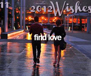 love, wish, and couple image