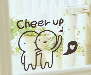 cute, cheer up, and friends image