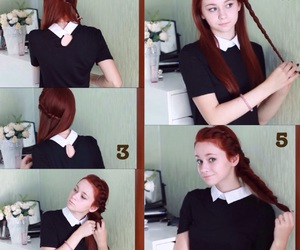 diy, hairstyles, and youtube image