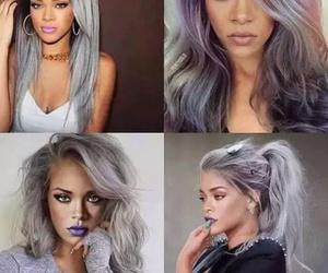 rihanna, hair, and riri image