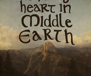 middle earth, LOTR, and heart image