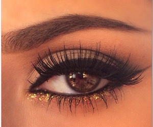 eyes, makeup, and models image
