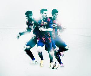 Barca, leo messi, and msn image