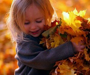 autumn, children, and fall image
