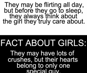 girl, boy, and facts image