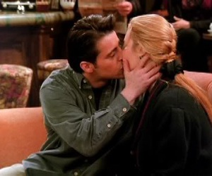 couple, scene, and joey tribbiani image