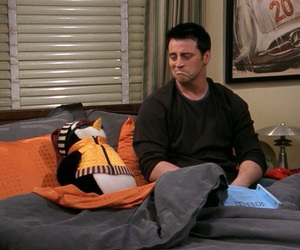 Joey, friends, and joey tribbiani image