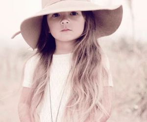 girl, cute, and hat image
