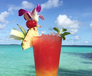 cocktail, Maldives, and drink image