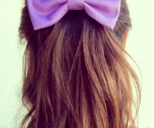 hair, purple, and cute image