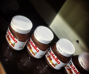 chocolate, delicious, and nutella image