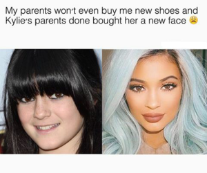 funny, jenner, and kylie image