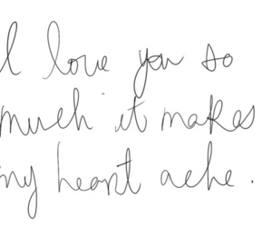 handwriting and love image