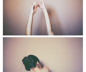 girl, photography, and hands image