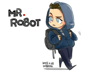 mr robot, elliot alderson, and rami malek image