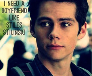 stiles and dylan o'brien image