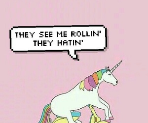 unicorn, lockscreen, and wallpaper image