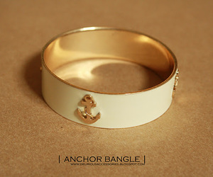 accesories, anchor, and bangle image