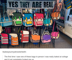 bag and funny image