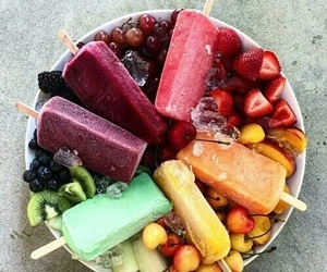 fruit, food, and ice cream image