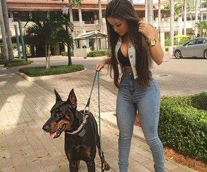 model, brazil, and dog image