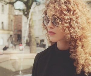 curly, fashion, and hair style image