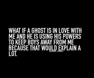 ghost, funny, and girl image