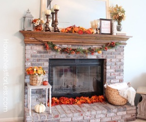 autumn, decorating, and fall image