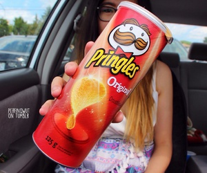 crackers, pringles, and snacks image