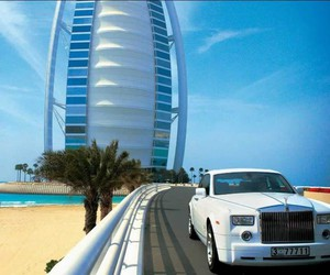 Dubai, car, and luxury image