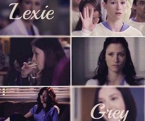 grey's anatomy, chyler leigh, and lexie grey image