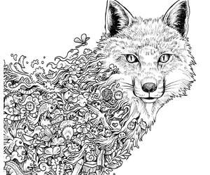 creature, draw, and nature image