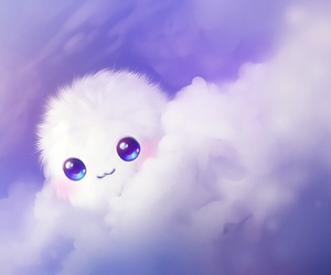 cute, clouds, and kawaii image