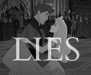 lies, princess, and disney image