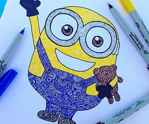 art and minions image