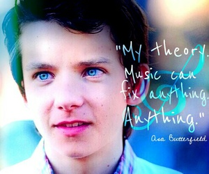 music, quotes, and asa butterfield image