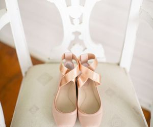 ballet, ballet shoes, and pink image