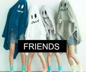 friends, ghost, and best friends image