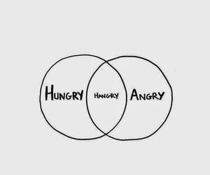 angry, hungry, and wallpaper image